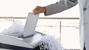máquinas trituradoras de papel