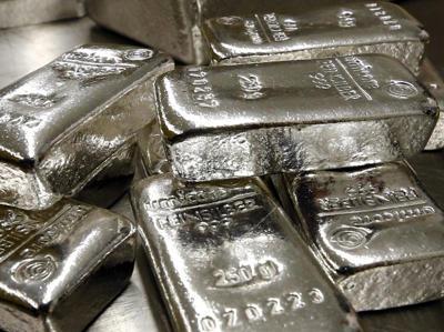 Comprar lingotes de plata