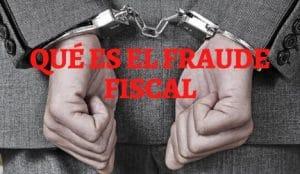 que es el fraude fiscal