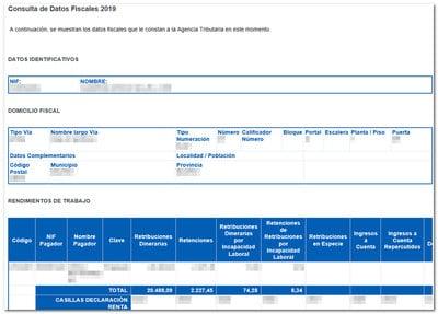 datos fiscales de una empresa