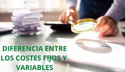 COSTES FIJOS Y VARIABLES