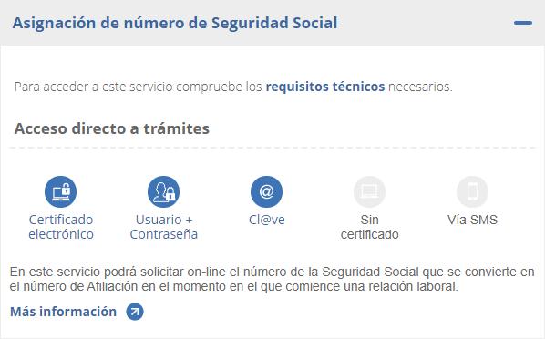 asignacion de numero de seguridad social