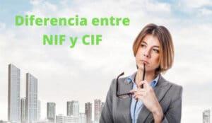 diferencia entre NIF y CIF