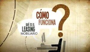 leasing mobiliario